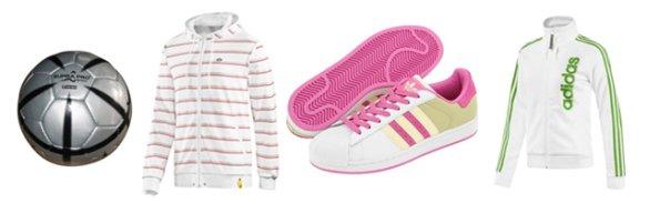 Oblečení značky Adidas