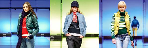 Ukázka dámského oblečení značky C&A