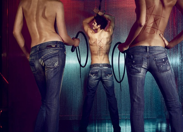 Džíny (jeans) Diesel