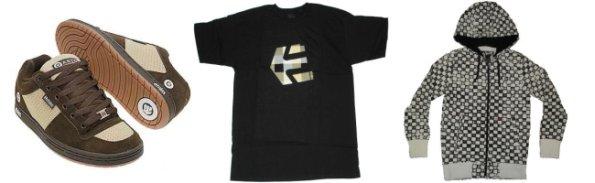 Oblečení značky Etnies