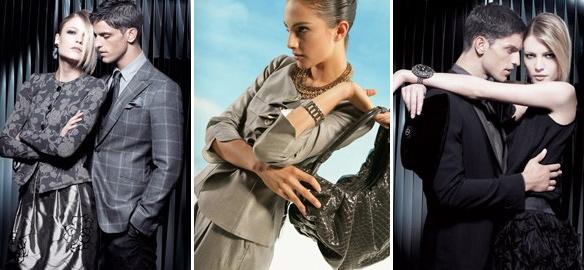 Ukázka módy podle Gorgio Armani