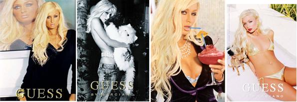 Paris Hilton pro Guess