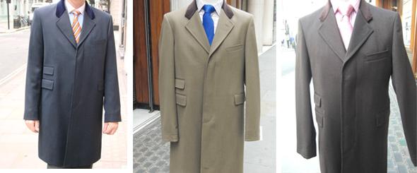 Harvie & Hudson kabáty
