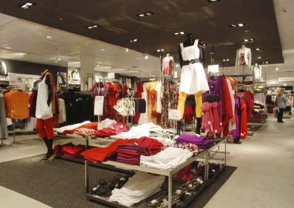 Ukázka obchodu H&M