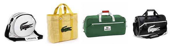 Tašky značky Lacoste
