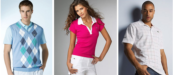 Oblečení Lacoste