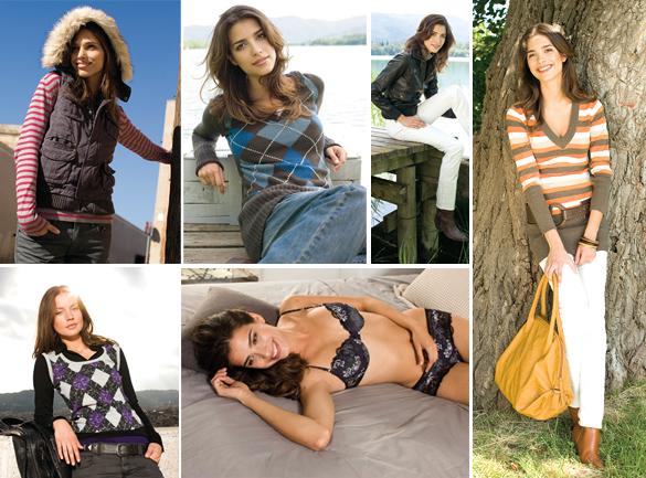 Ukázka dámského oblečení Takko Fashion