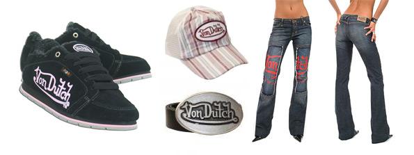 Von Dutch móda