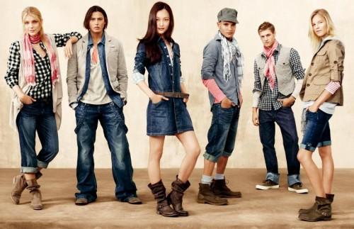 Oblečení značky Gap