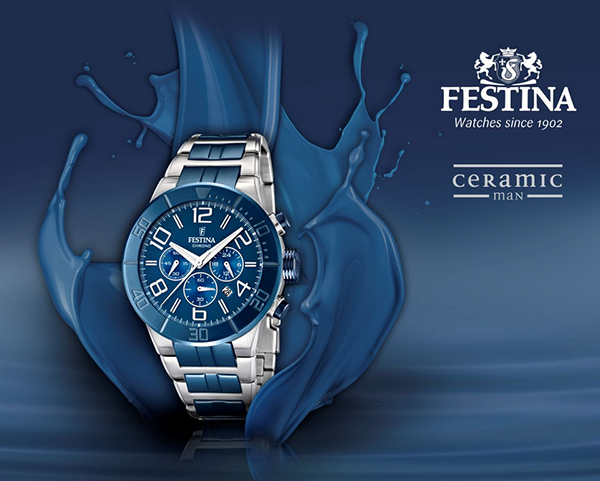 Pánské hodinky Festina Ceramic