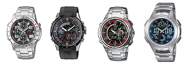 Pánské hodinky Casio - Edifice, Illuminator, Pro Trek