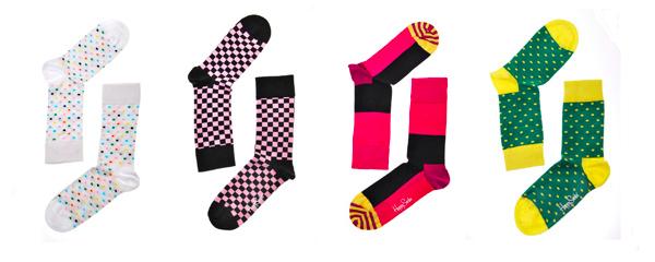 Barevné ponožky Happy Socks