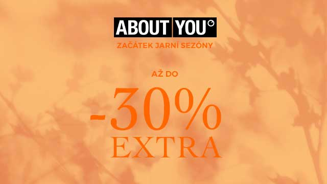 Sleva 30 % na oblečení od AboutYou